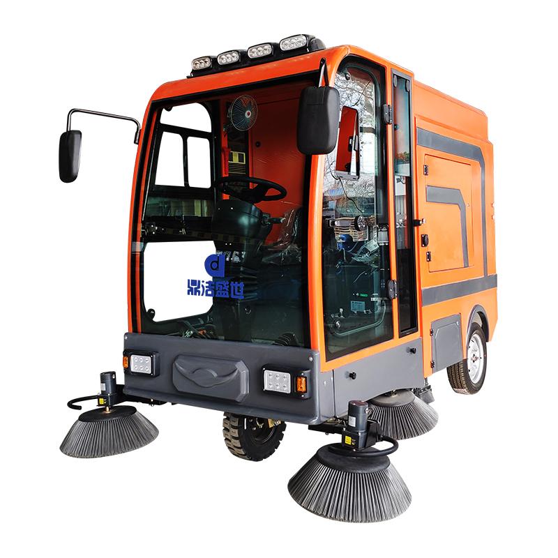 鼎洁盛世DJ2100GT挂桶式扫地车部件图