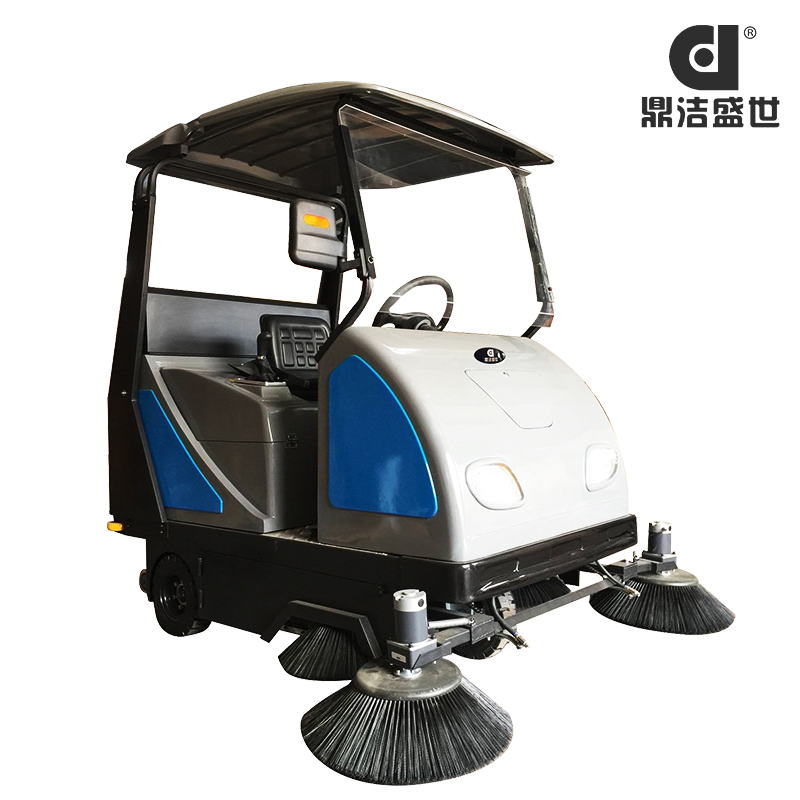 驾驶式扫地机扫路车没电怎么办?