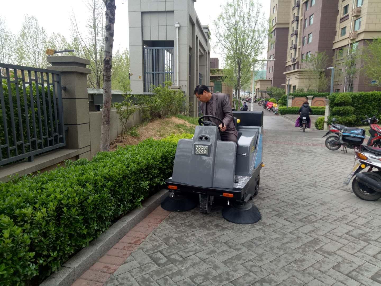 青岛物业选择电动扫地车