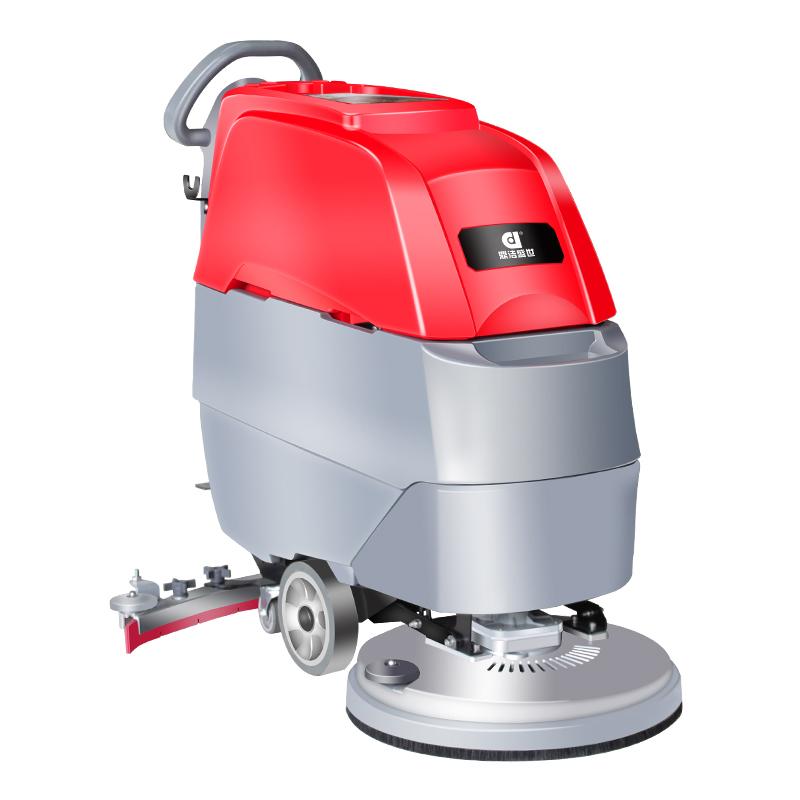新款手推式洗地机擦地机