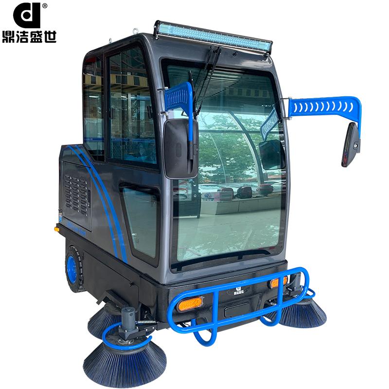 DJ2000A电动驾驶室全封闭驾驶扫地机部件图1