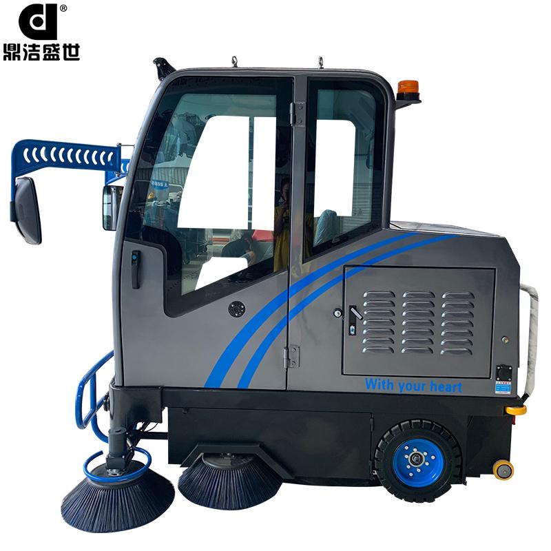 DJ2000A电动驾驶室全封闭驾驶扫地机部件图3