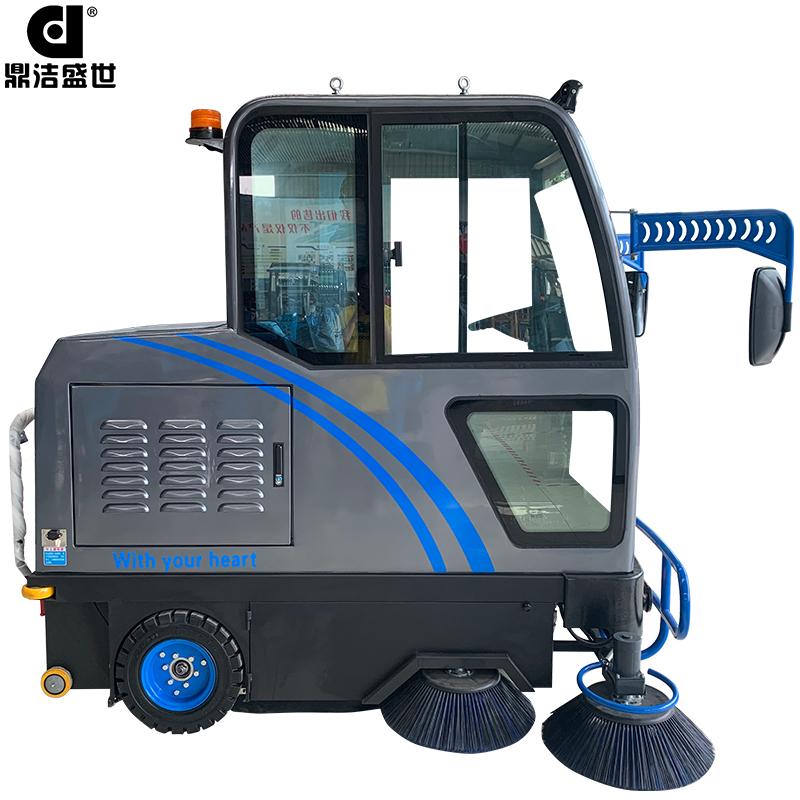DJ2000A电动驾驶室全封闭驾驶扫地机部件图5