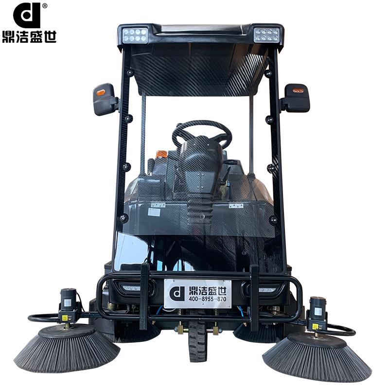 鼎洁盛世品牌DJ1900L半封闭驾驶式扫地机部件图1