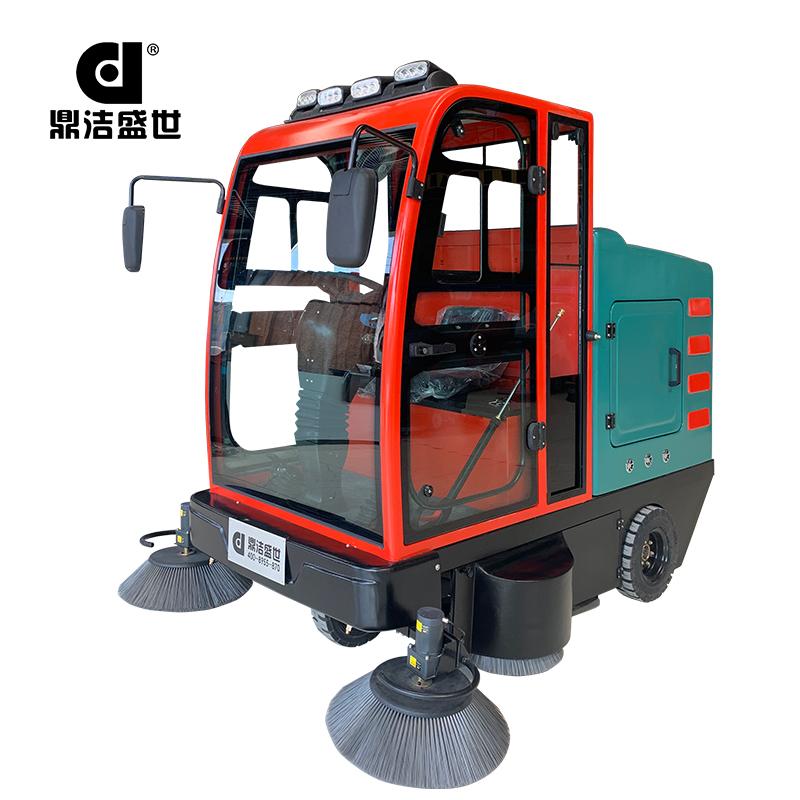 鼎洁盛世DJ2260GY电动驾驶式全封闭扫地车部件图1