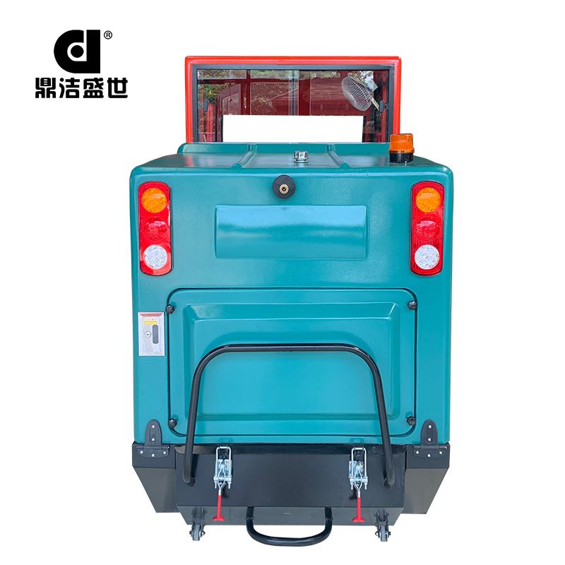鼎洁盛世DJ2260GY电动驾驶式全封闭扫地车部件图2