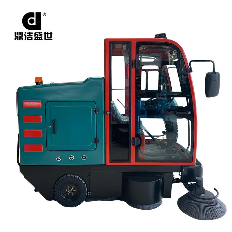 鼎洁盛世DJ2260GY电动驾驶式全封闭扫地车部件图3