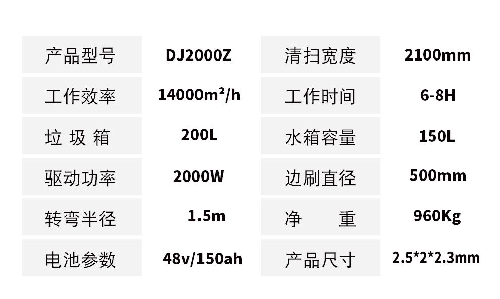鼎洁盛世DJ2000Z电动扫地车工厂学校公园广场清扫车详情页_10