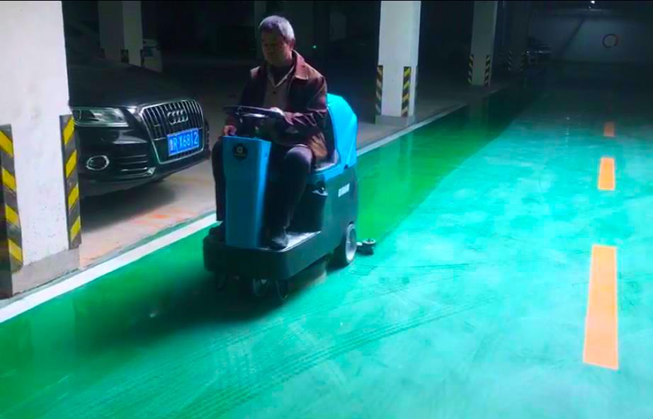 车库清洁推荐洗地车